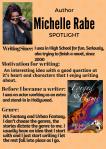 Author Spotlight: MichelleRabe